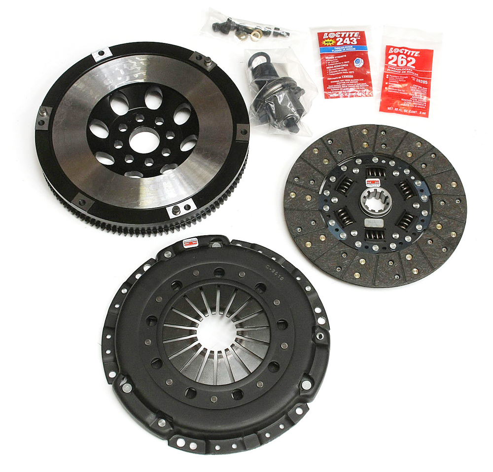 COMPETITION CLUTCH BMW M3 E46 STAGE 2 KEVLAR AND FLYWHEEL / CCI-3054-2100-F